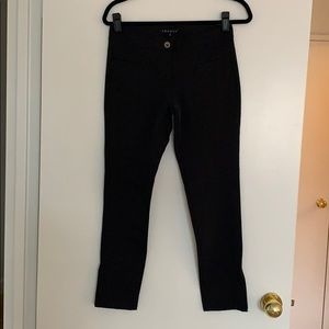 🔥 Theory Skinny Black Capri Pants Size 2